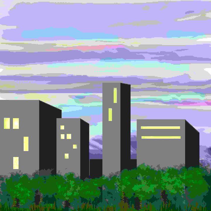 city sunset - studioALISA