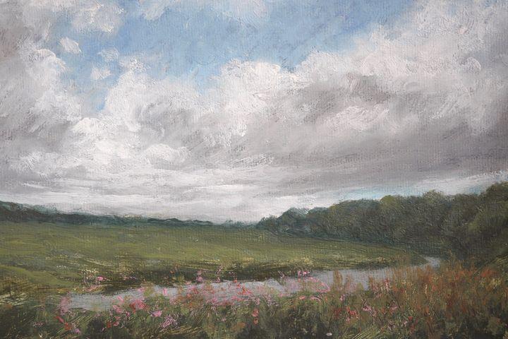 Cloudscape, River Ribble - Gudpaint