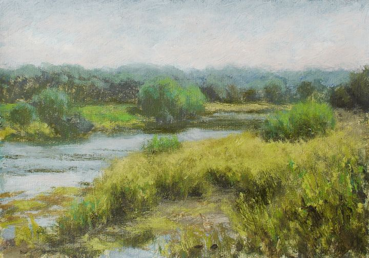 Afternoon, River Ribble - Gudpaint