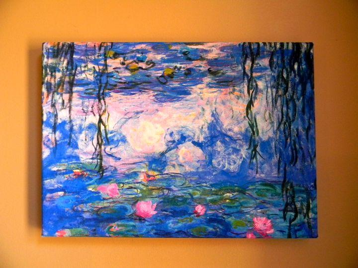Water Lilies by Claude Monet - Chameleon Canvas Art