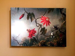 Passion Flowers by MJ Heade - Chameleon Canvas Art
