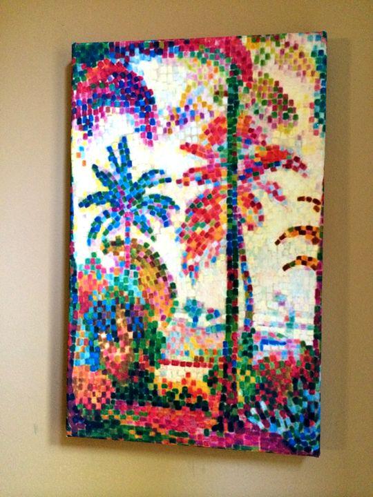 Paysage Tropical by Jean Metzinger - Chameleon Canvas Art