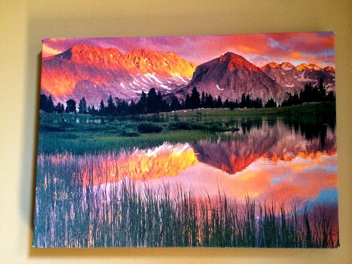 Sunset/Landscape - Chameleon Canvas Art