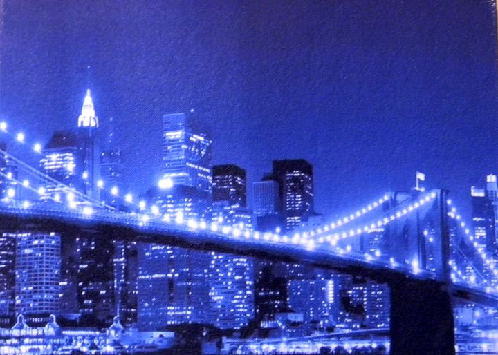 Brooklyn Bridge - Chameleon Canvas Art