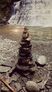 Calming rock tower