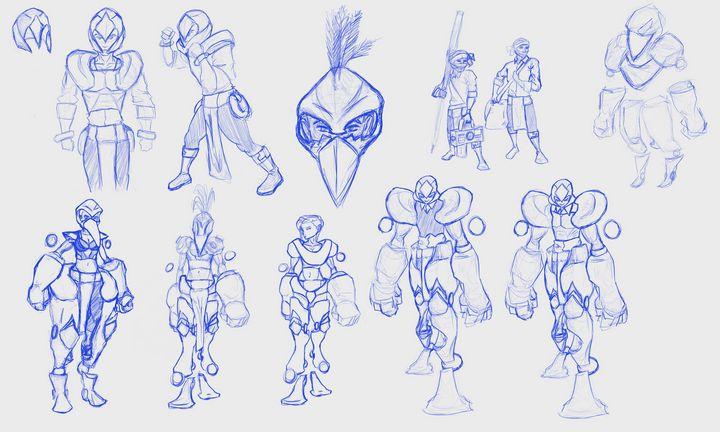 Origina Concepts for ScoutHawks - Alexander Barger