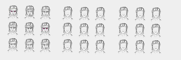 A Djinn's Expressions - Alexander Barger