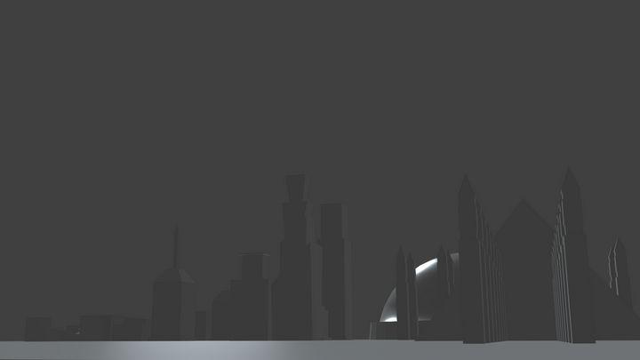 ValleyCity Skyline Render - Alexander Barger