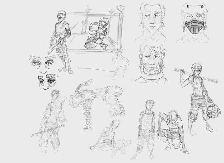 Missing WildCat - Niix Gesture Sheet - Alexander Barger