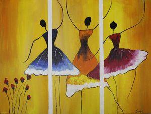 DANCING DOLLS - Sonal's Art Club