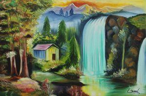 Nature- Feel of presence of God - Sonal's Art Club