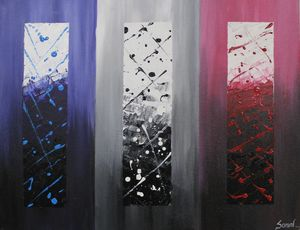 SHADES OF LIFE- ABSTRACT PIECE - Sonal's Art Club