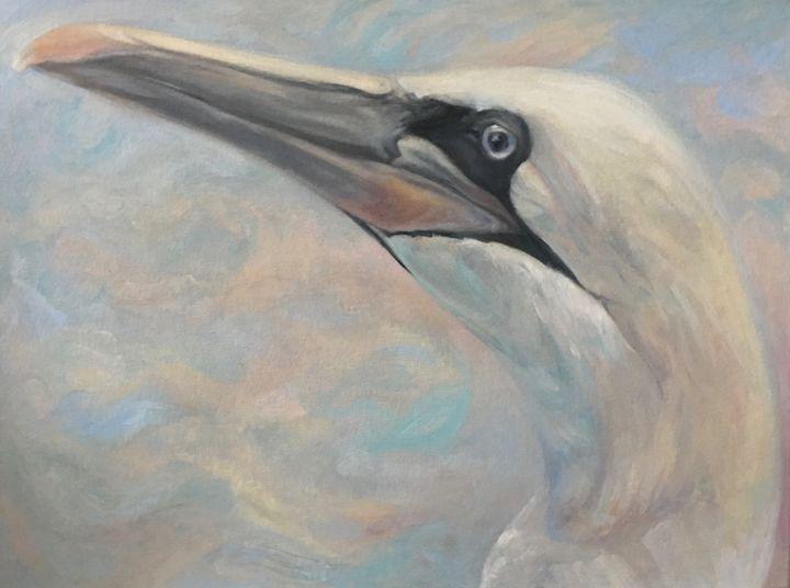 Gannet (profile bust) - LSAuth Art