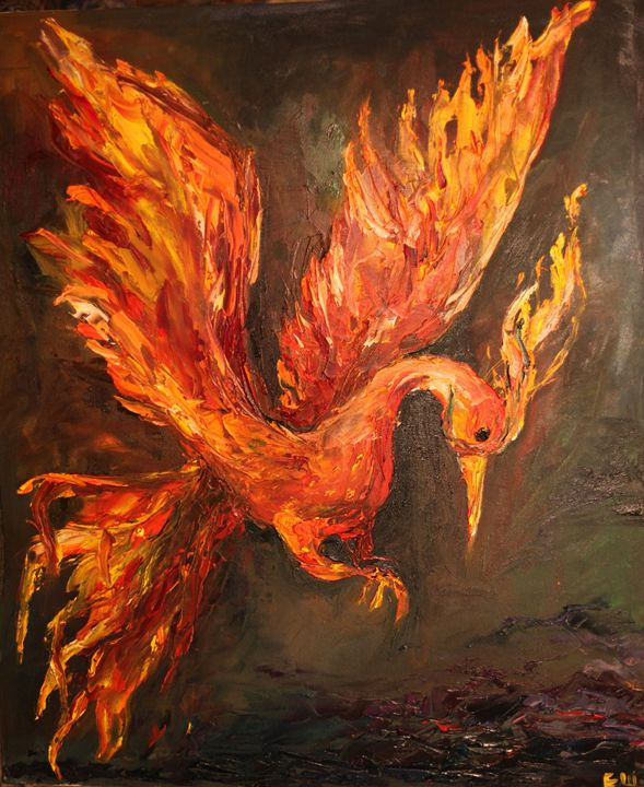 Fire Bird - Kate Shukalova