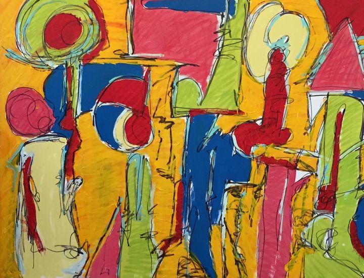 a study in orange - Phyllis kravitz