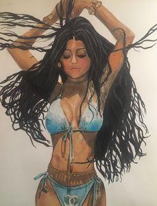Kylie Jenner In Chanel Bikini