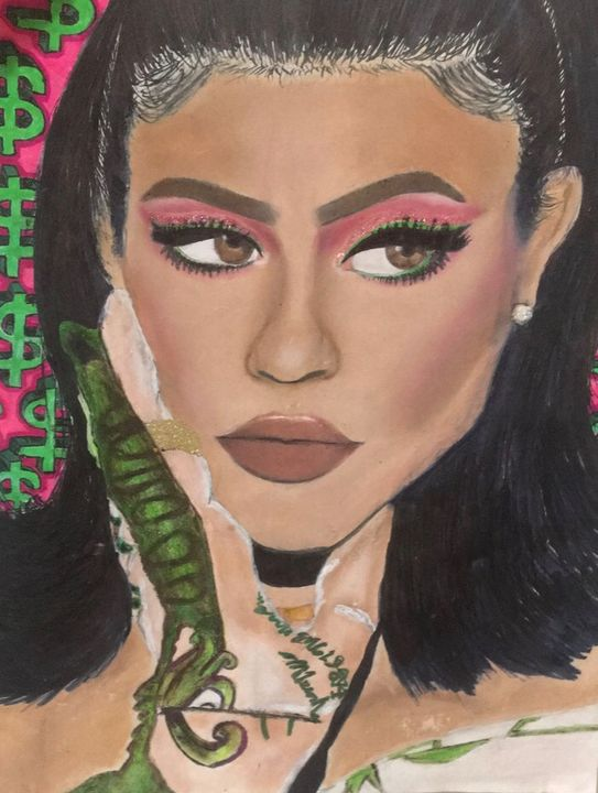 Kylie Money Drawing - Gisselle's Gallery 👩🏻‍🎨