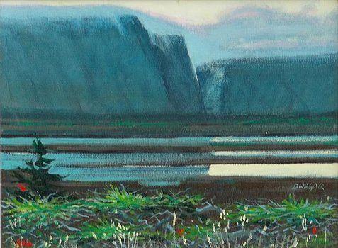 Brooke pond, Nfld - artlegacy
