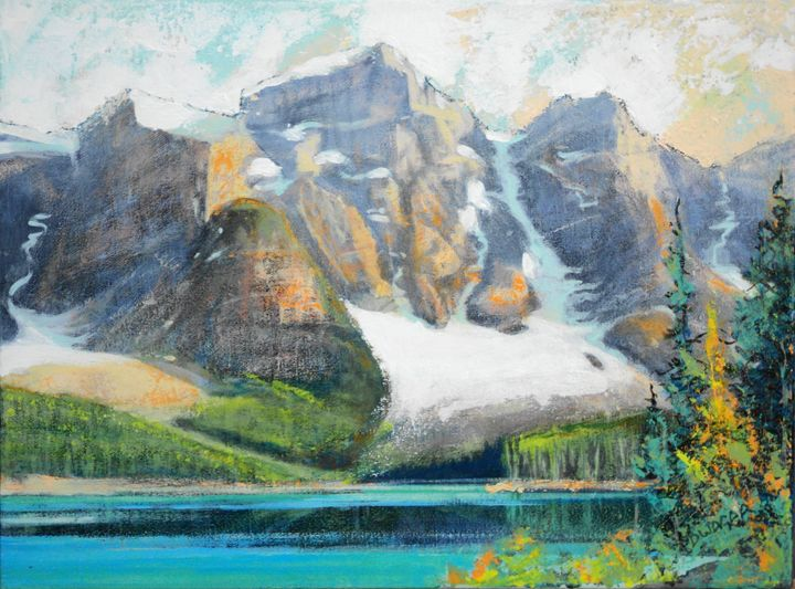 Moraine lake - artlegacy