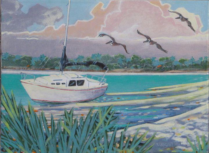 Shore Patrol Gulf side Florida - artlegacy