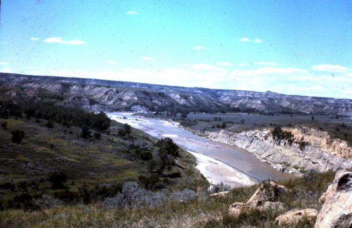 The Little Missouri River - Manodak's