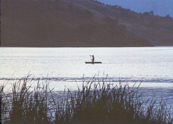 The Lone Fisherman - Manodak's