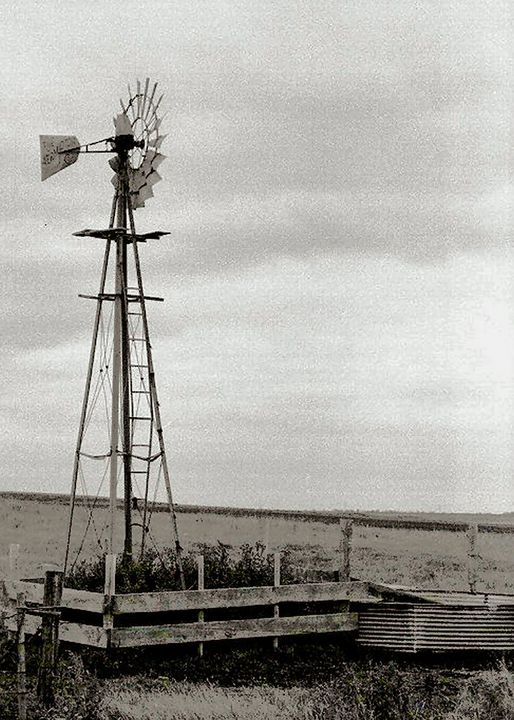 A lonely Windmill - Manodak's