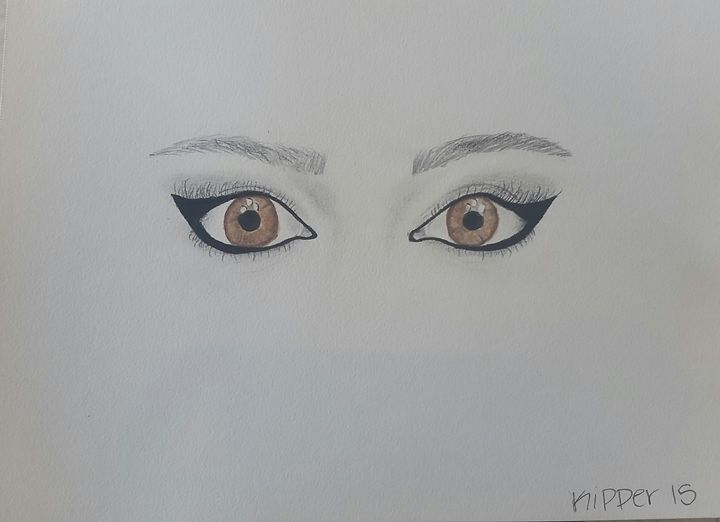Cat Eyes - Brittany Kipper Artwork