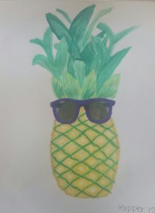 Coolest Pineapple on the Beach