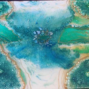 Blue Lagoon Geode