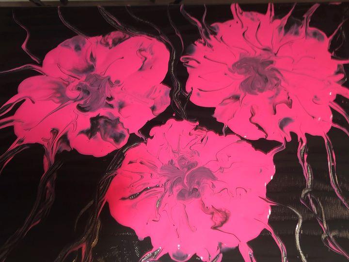 Pink azaleas - Southern Creations by Bobbie