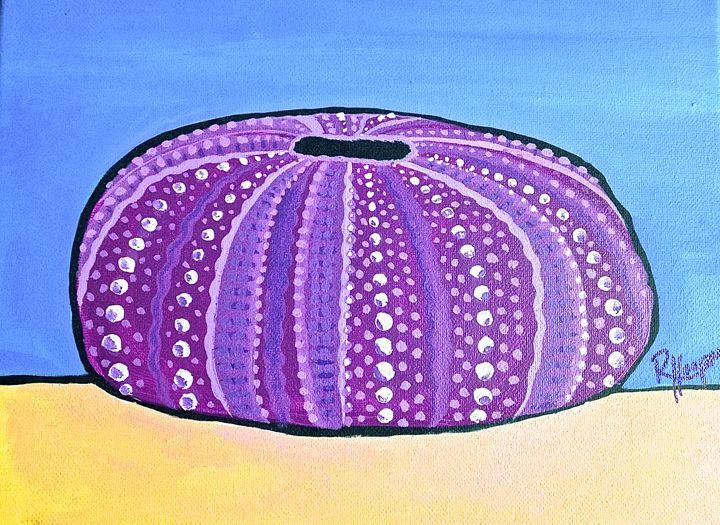 Purple Urchin - Robyn Hooper