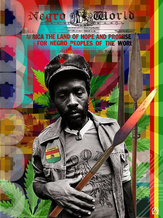 BURNING SPEAR - Anthony Colley