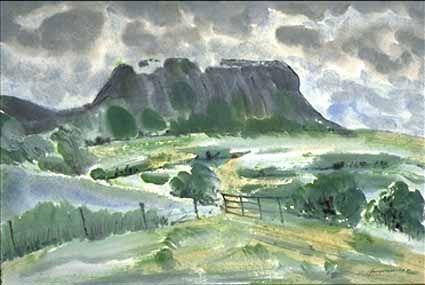 Ben Bulbin, Ireland - Heinz Sterzenbach
