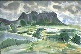 18,7x25,2 inch, Watercolor