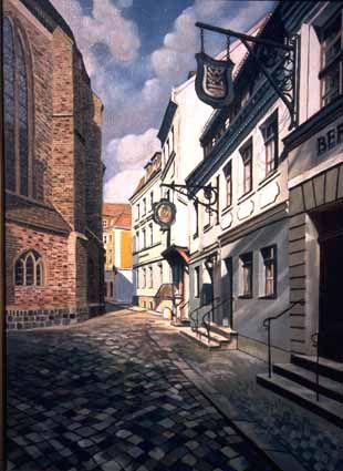 Square of Nikolai Church - Heinz Sterzenbach