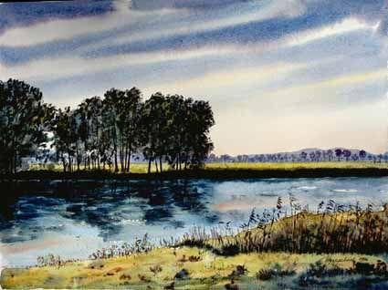 Landscape near Ketzin - Heinz Sterzenbach