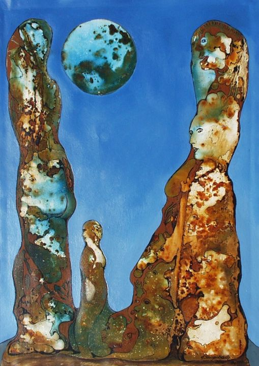 VU 177 Big Rock Figures - Heinz Sterzenbach