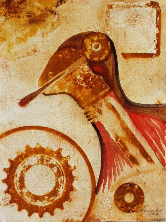 VU 104 Bird head - Heinz Sterzenbach