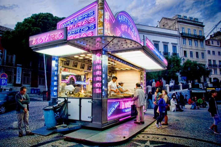 Neon Dream in Lisbon - Interface Images World Fine Art Gallery