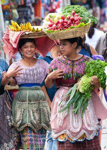 Mayan Market in Antigua Guatemala