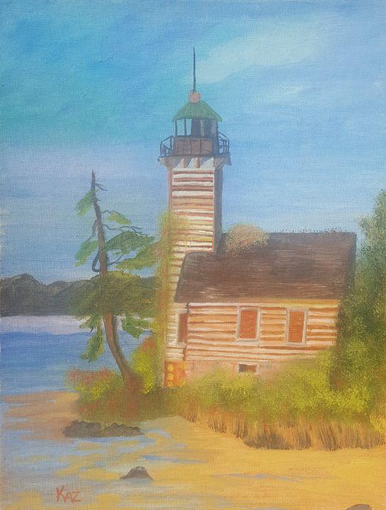Lighthouse on the Beach - Kaz