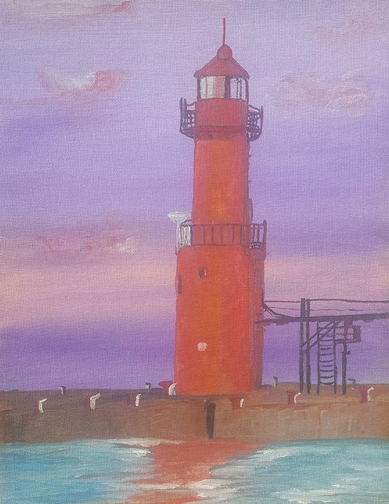 Red lighthouse - Kaz
