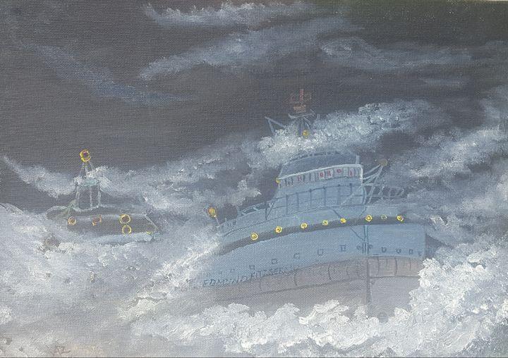 Ship in the Sea - Kaz