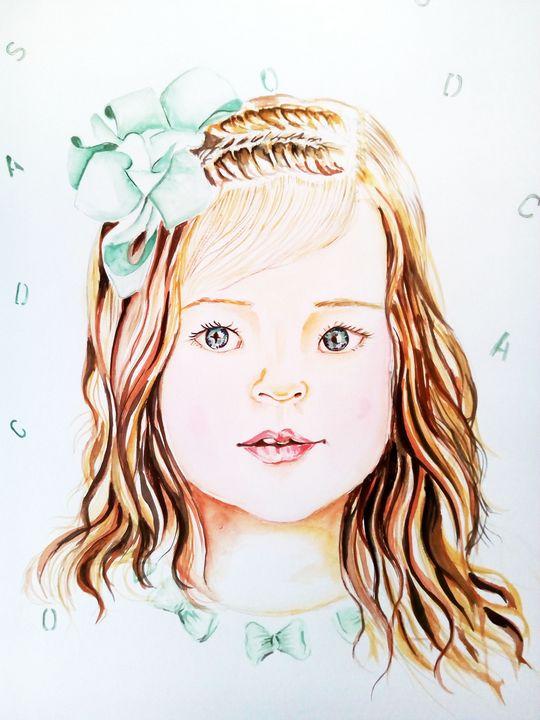 Adorable little girl - Ehsaas