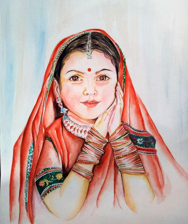 Little Indian girl with bangles - Ehsaas