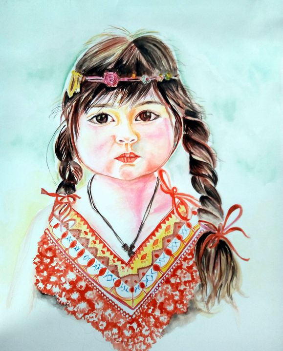 Little north east Indian girl - Ehsaas