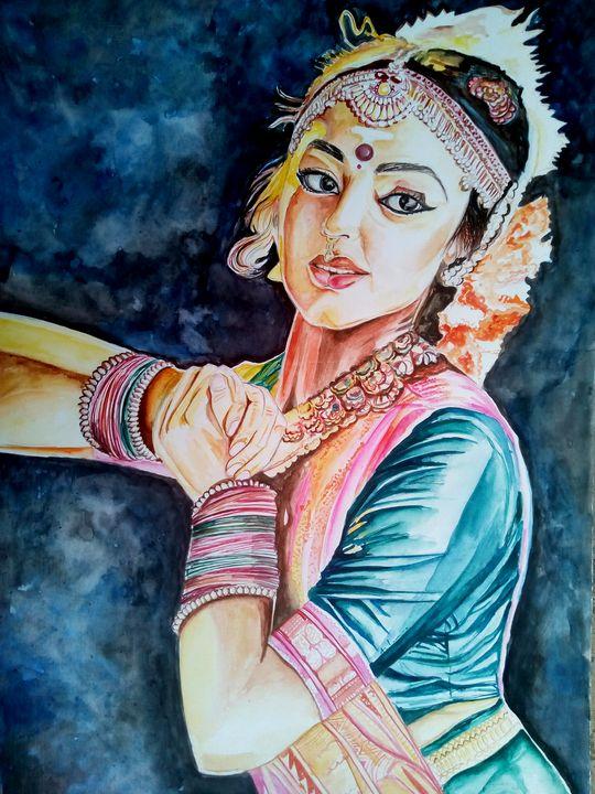 Indian classical dancer - Ehsaas