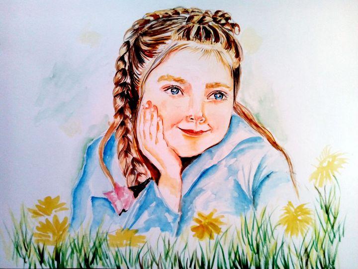 Happy in the fields - Ehsaas