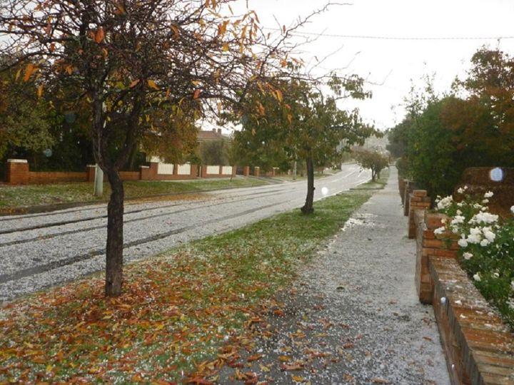 Autumn hail in Tasmania. - Kevinfrancisbell